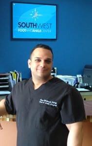 Dr. Reza Mobarak, DPM, FAPWCA podiatrist Plano and Lewisville,